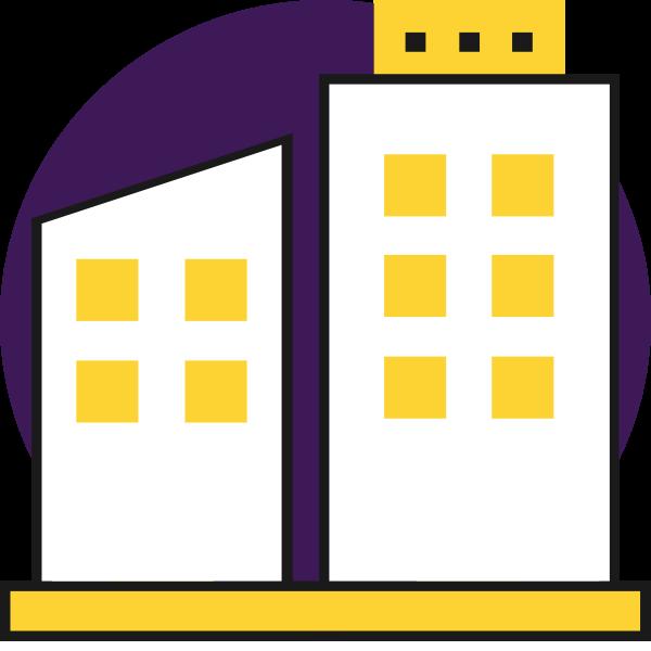 Icon Bürogebäude
